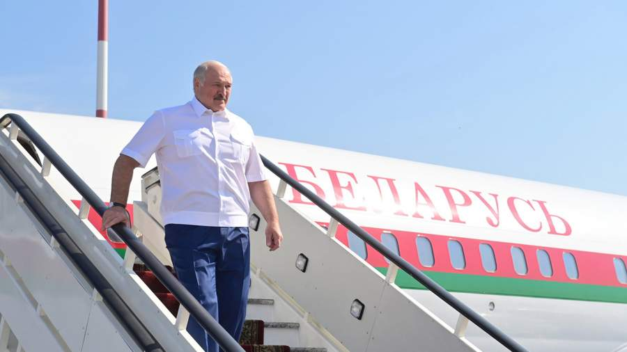 Президент Белоруссии Александр Лукашенко прибыл в РФ