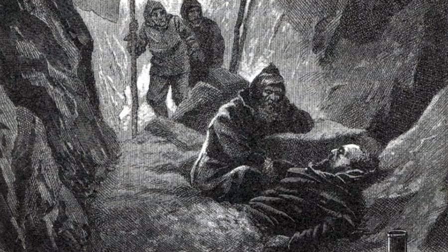 Смерть Витуса Беринга