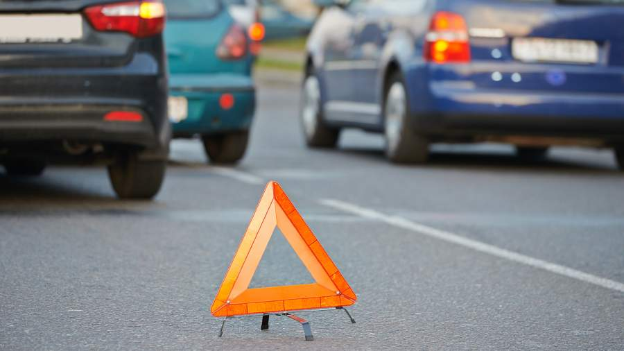 треугольник на дороге