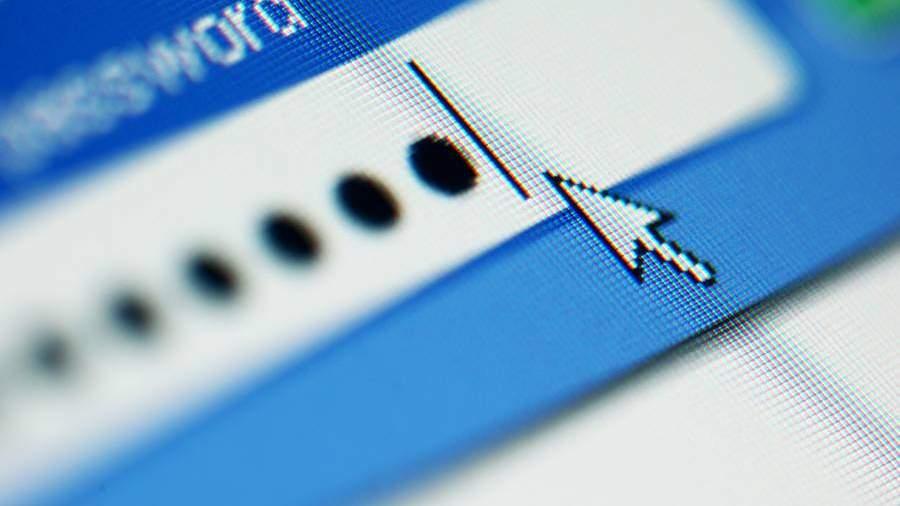 Ввод пароля в браузере