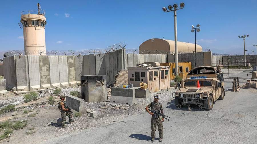 Бывшая авиабаза ВВС СШАБаграм в Афганистане