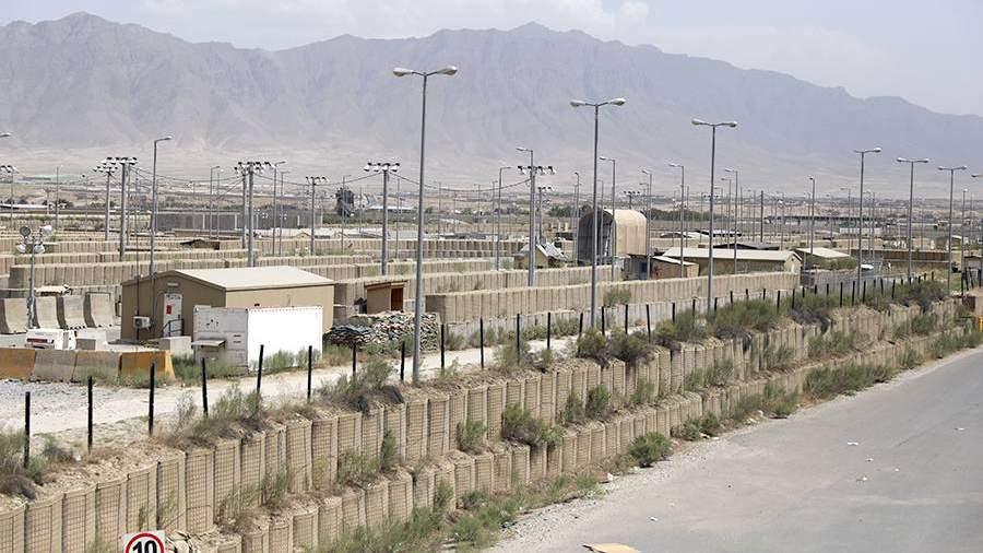 Бывшая авиабаза сил США и НАТО Баграмв Афганистане