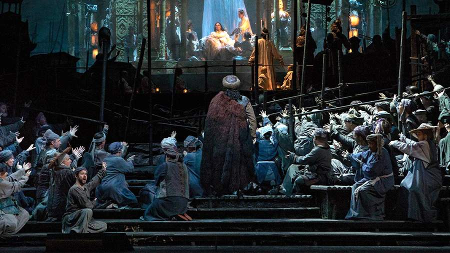Сцена из оперы «Турандот»
