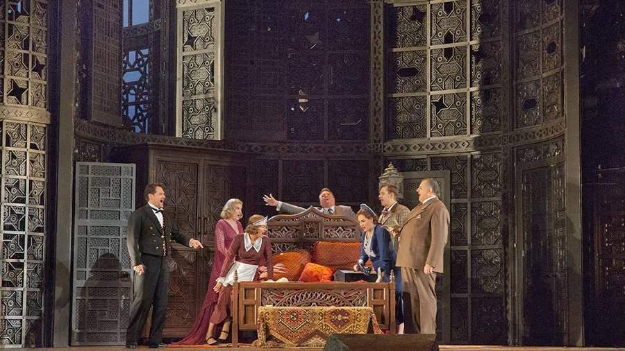 Сцена из оперы «Свадьба Фигаро»