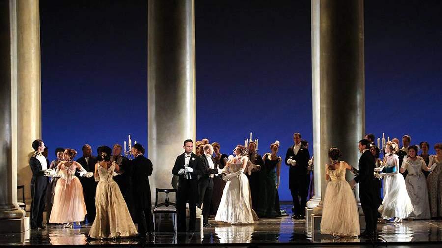 Сцена из оперы «Евгений Онегин»