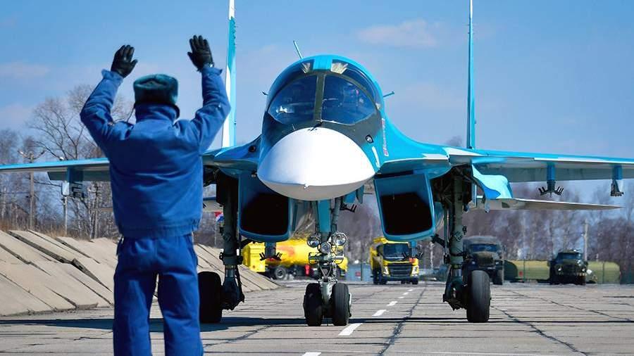 Многофункциональный истребитель-бомбардировщик Су-34