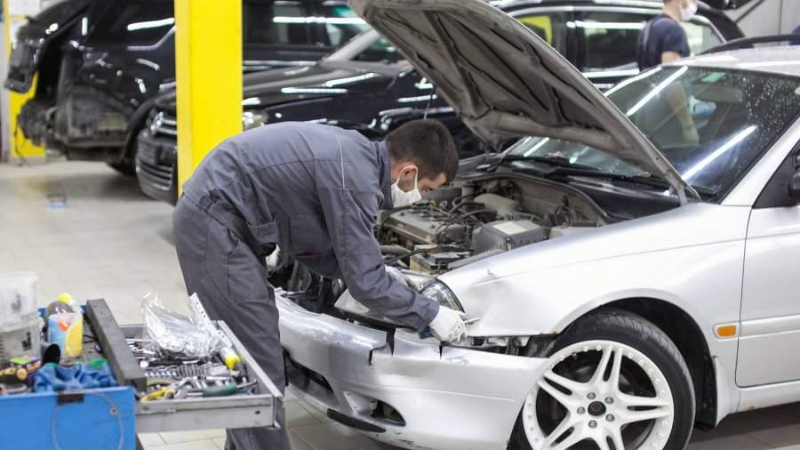 ремонт автомобиль