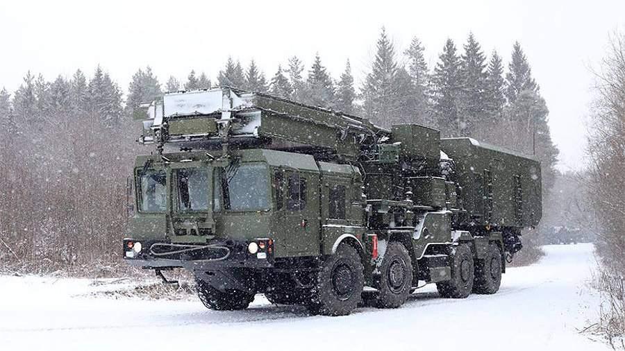 ПринятиезенитнойракетнойсистемыС-350 «Витязь»в состав Воздушно-космических сил