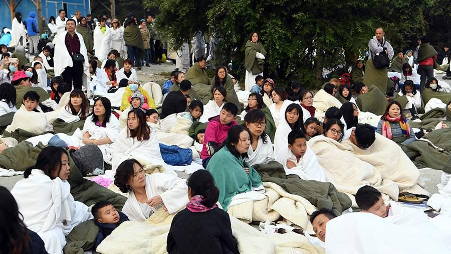 землетрясение в китае 9 августа наиболее