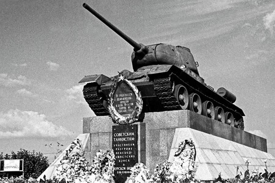 дел танкистам курской битвы открытка перспективы, таких снимках