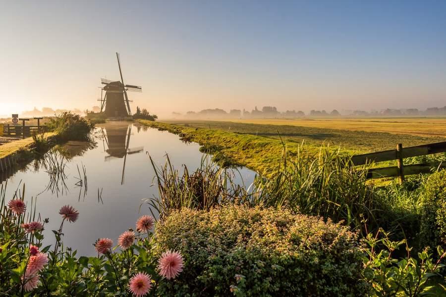 Мельницы в Нидерландах