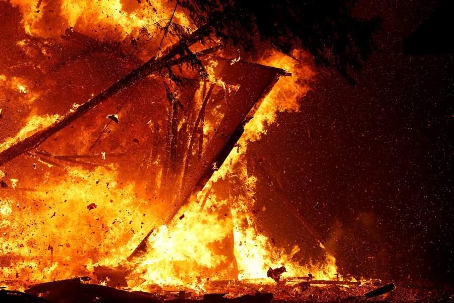 фото с огнём