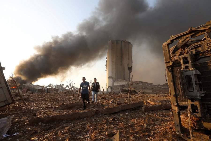 Взрыв в Ливане